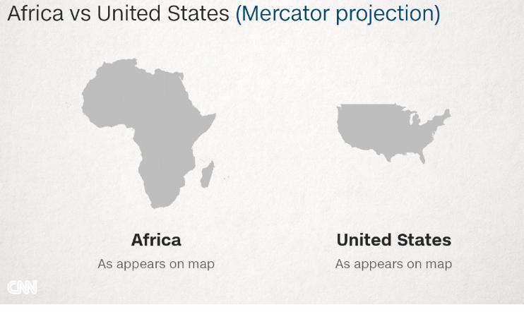 Afrika Kıtası ABD karşılaştırması