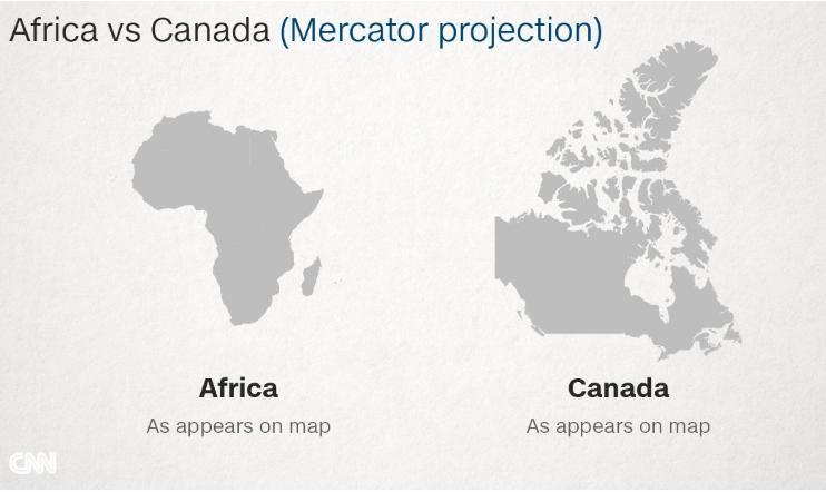 Kanada Afrika Karşılaştırması