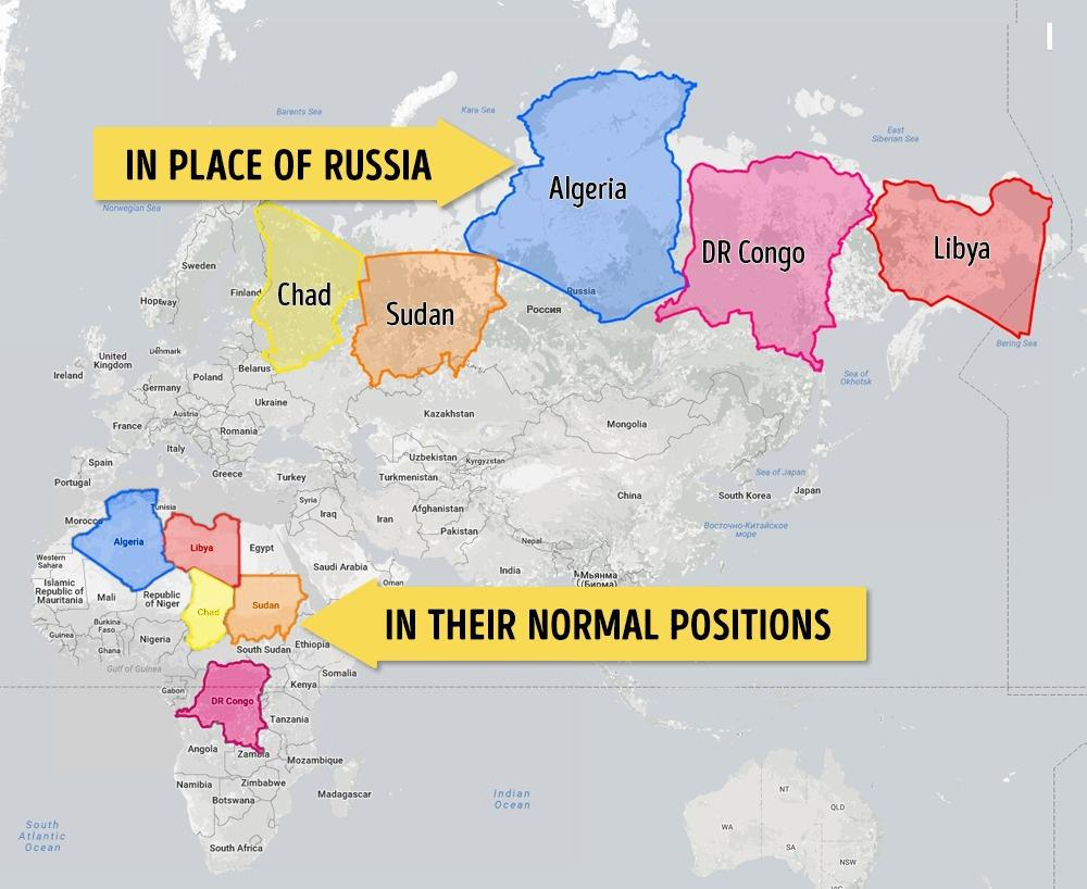 Afrika Ülkeleri Rusyada Olsa