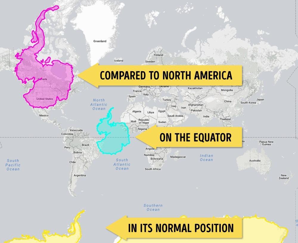 Antartika Kıyaslama