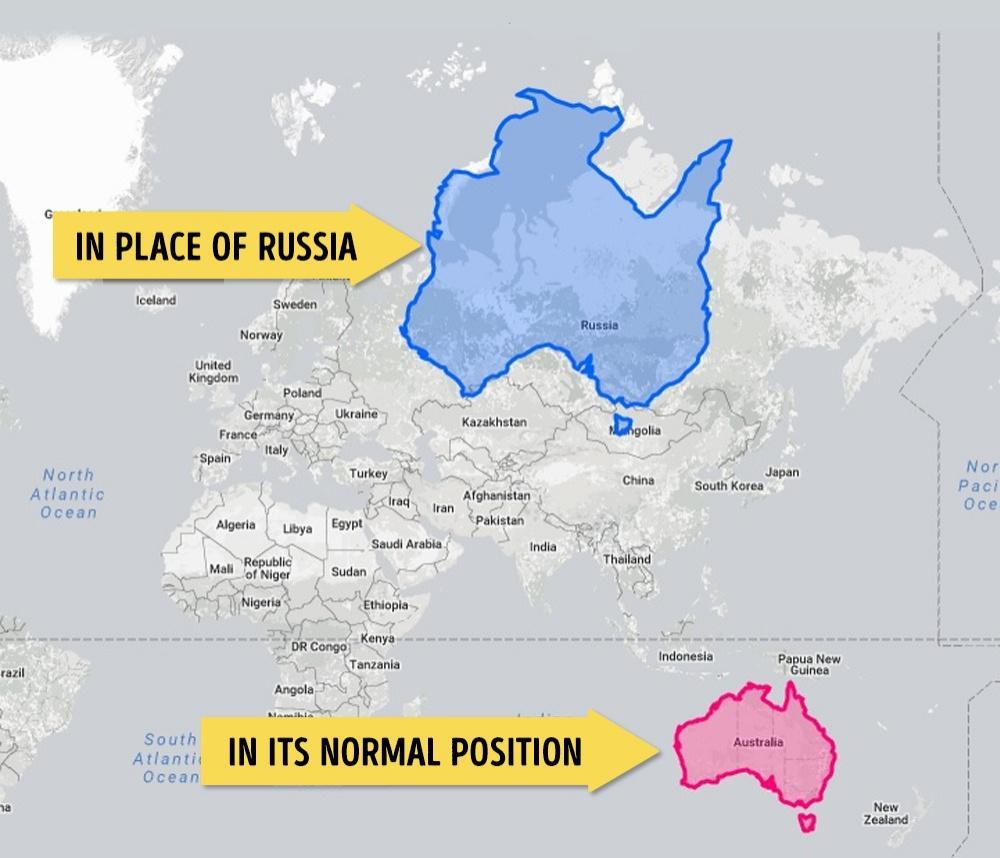 Avustralya Asya Kıtasında Olursa