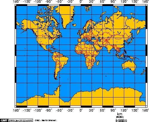 Dünya haritası düz zemin sorunu