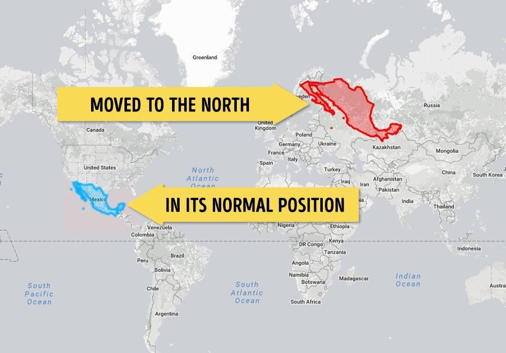 Meksika Avrupa Kıtasına taşınırsa