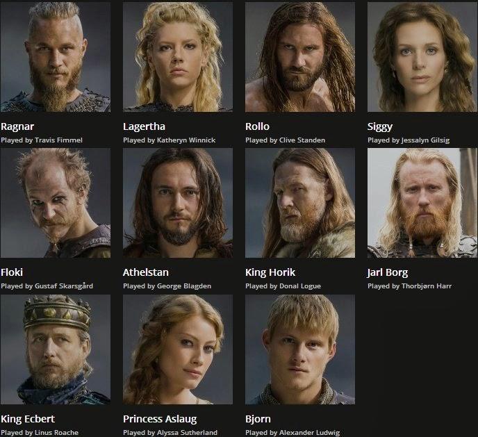 Vikings | Oyuncular