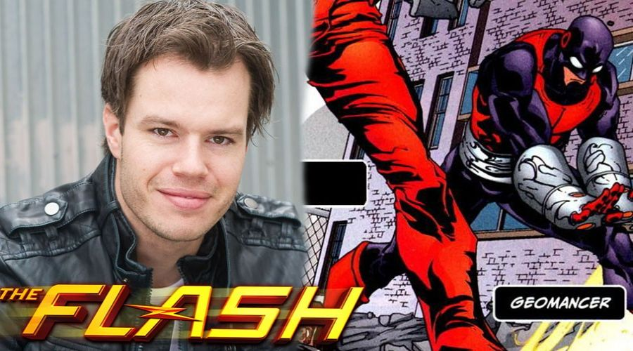 Adam Stafford The Flash'a Katıldı